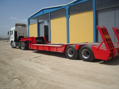 Low Bed , 2 axles