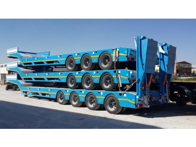 Lowbed, 3-4 axles