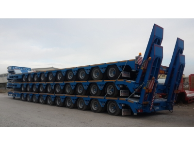 Lowbed, 10 axles