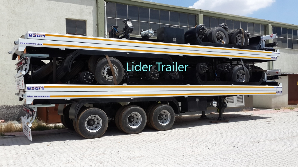 Flatbed semi-trailers