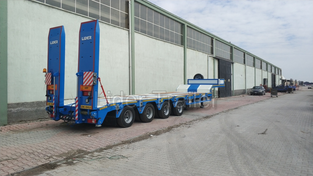4 Axle low loader