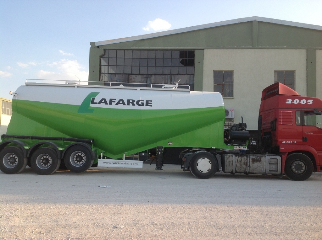 We have sold cement tanks to Lafarge Holcim
