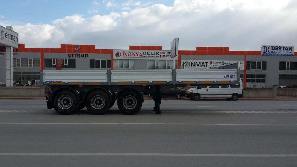 Steel Roller Semi Trailers