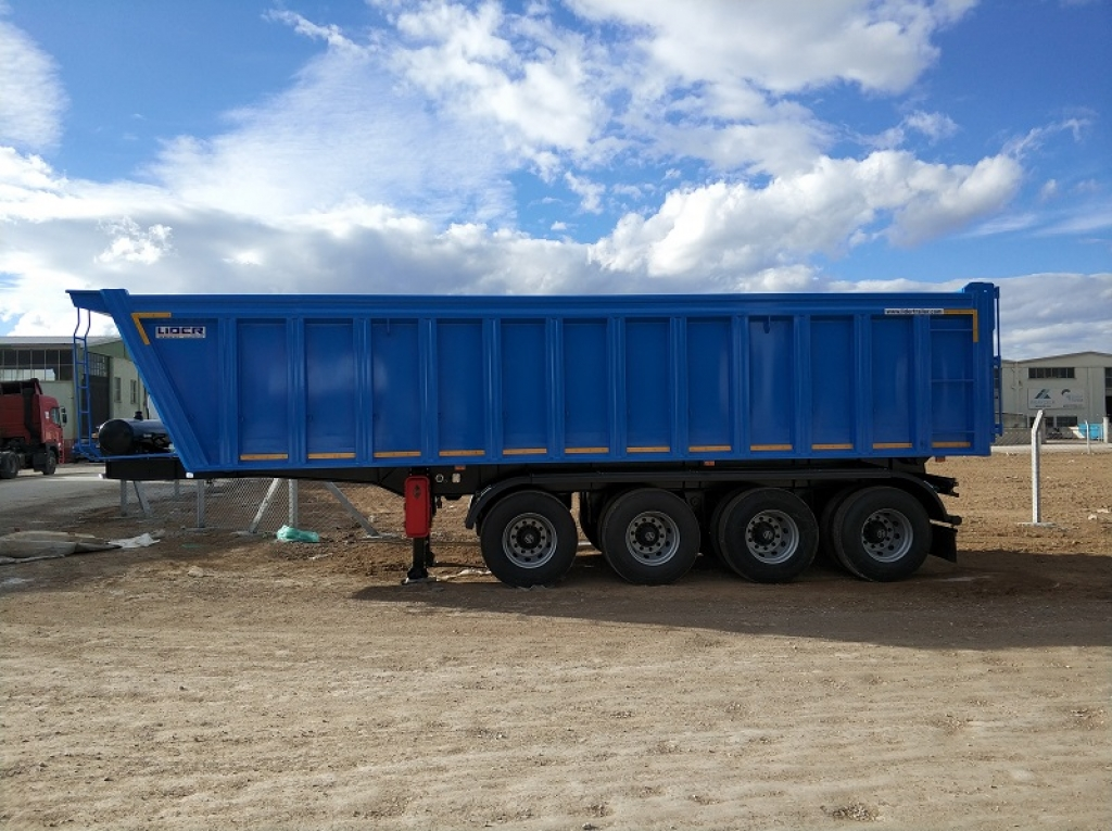 Rock Tipper Semi-trailers