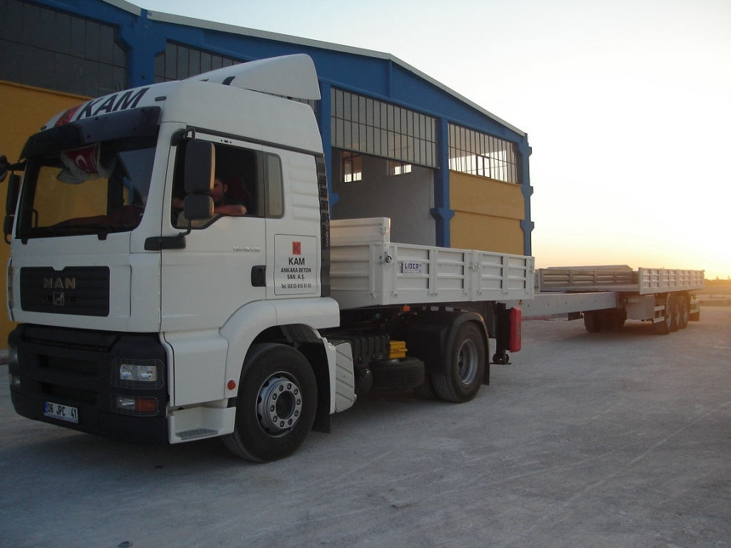 Extendable Flatbed semi trailers