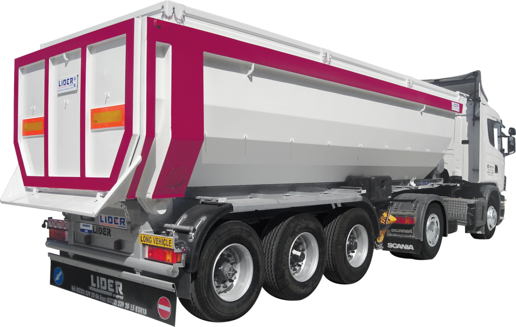 Tipper semi Trailer manufacturer in Turkey