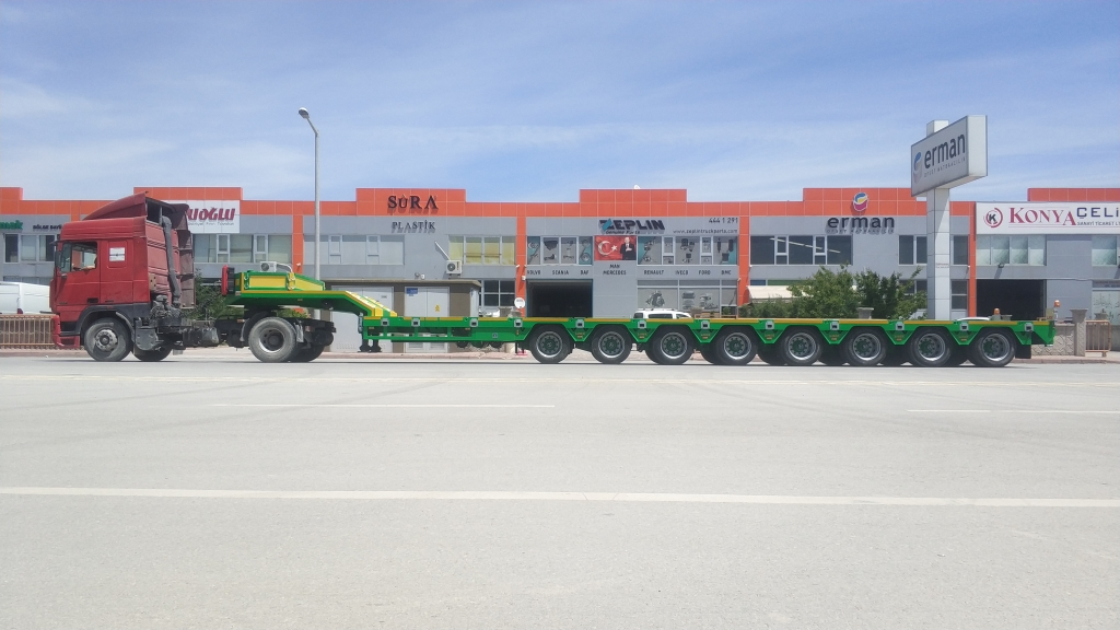 Types Of Lowbed Semi Trailer