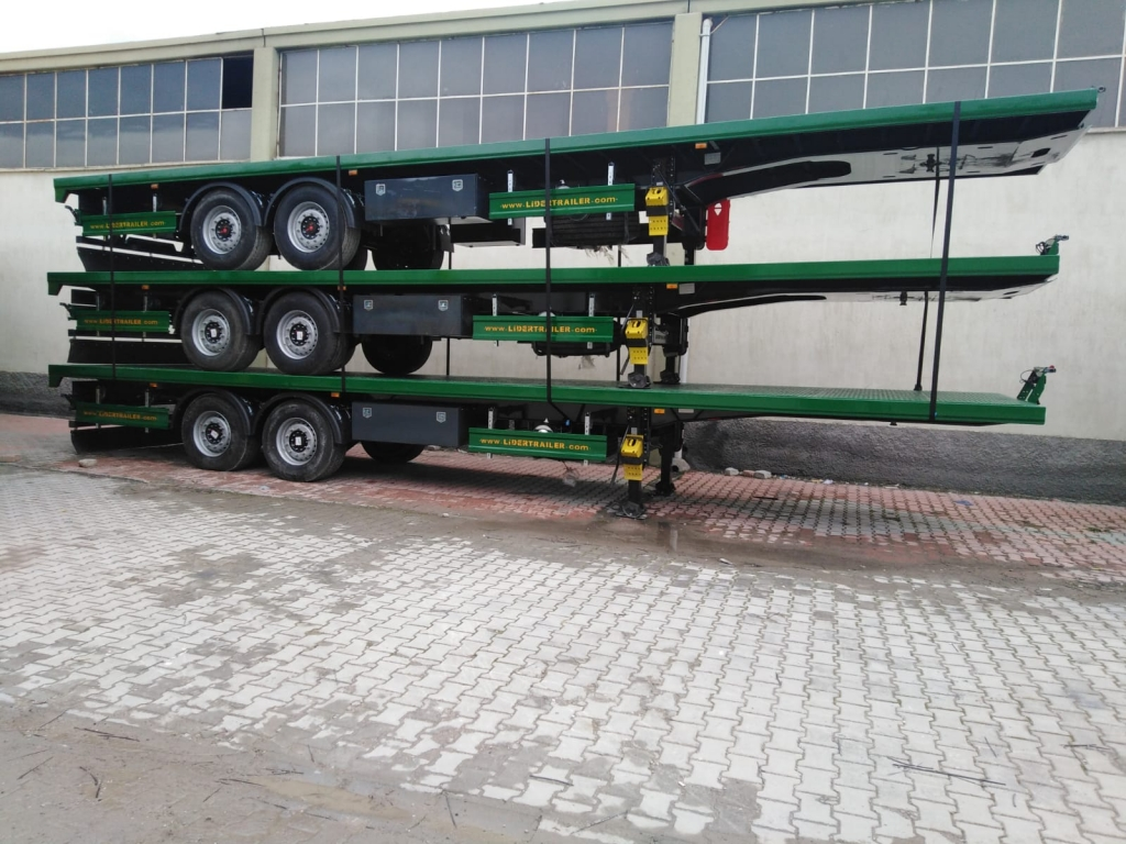 Flatbed Semi Trailers Shipments