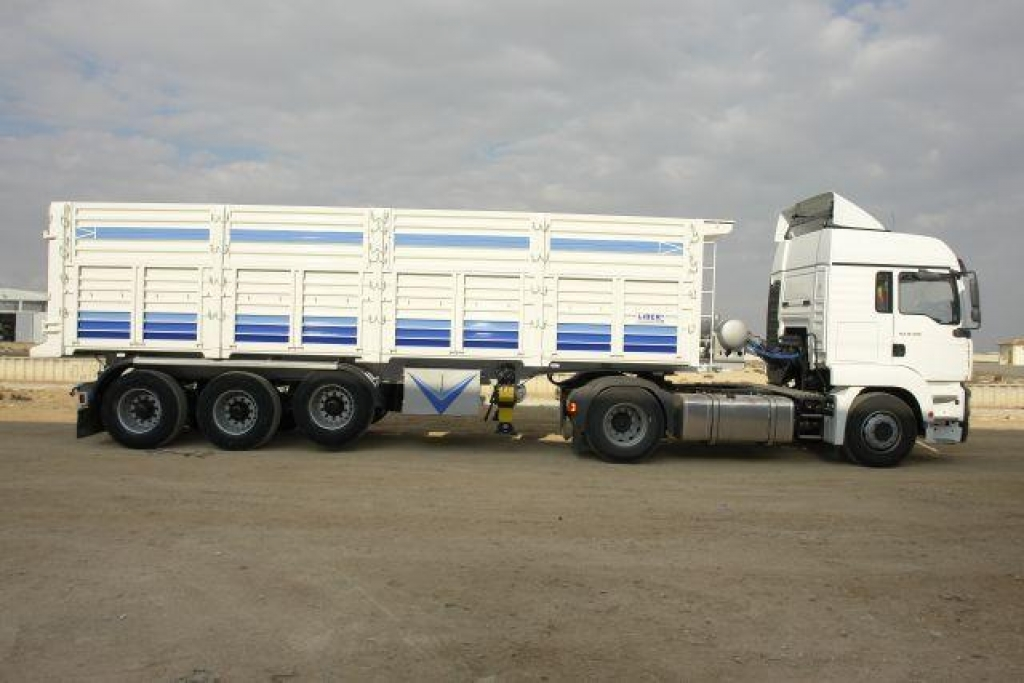Scrap Tipper Semi Trailer